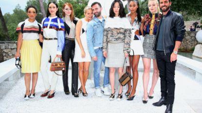 Celebrities spotten op de Louis Vuitton Cruise 2019 modeshow
