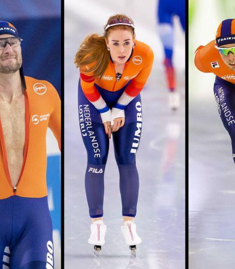 Krol, De Jong en Roest leiden na eerste dag in Thialf, geen derde Europese titel voor Verbij