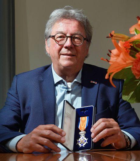 Cor Verbogt werd bevorderd tot Ridder: 'Ik ben graag een druk baasje'