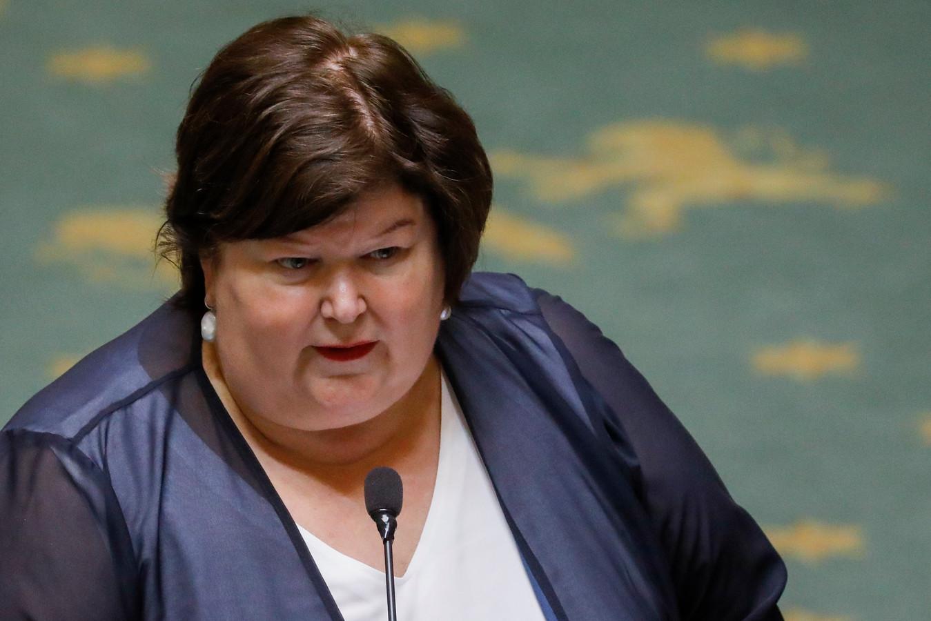 Maggie De Block, ministre de la Santé