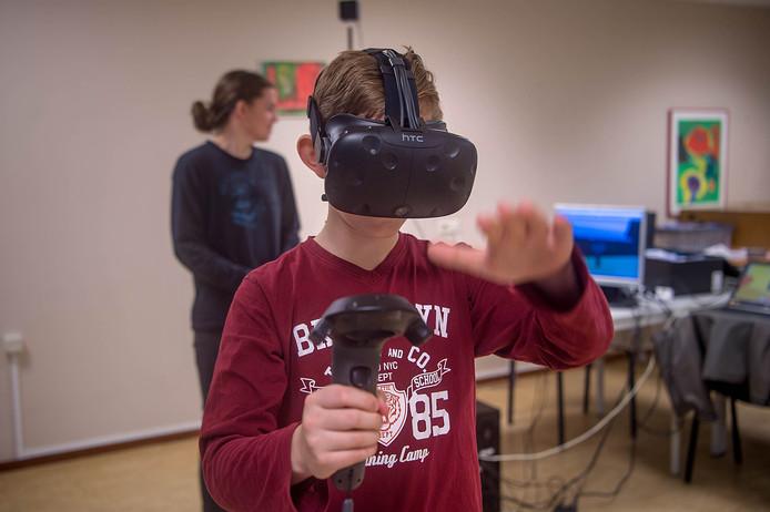 Het TechLokaal Maas & Waal maakte de 3D-virtual realityversie van de Hogestraat in Druten.