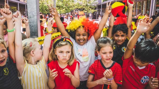 Duivelse scholen: Gentse kinderen massaal in rood naar de klas