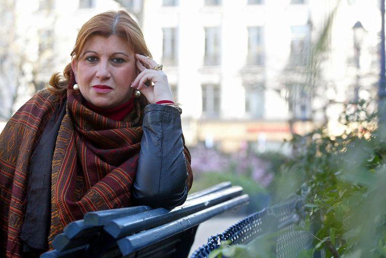 Dounia Bouzar, ook wel bekend als Madame Déradicalisation, in 2003. Beeld afp
