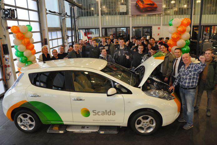 Scalda krijgt geld voor een gezamenlijk project met Vlaamse Syntra West.