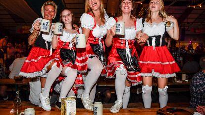 FOTO'S. Zo vieren ze in Wieze de Oktoberfeesten na 31 jaar stilte