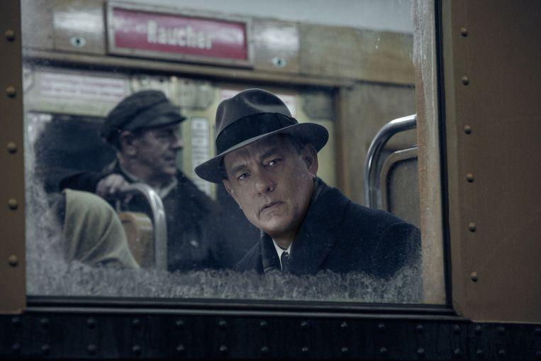Tom Hanks in Bridge of Spies. Beeld