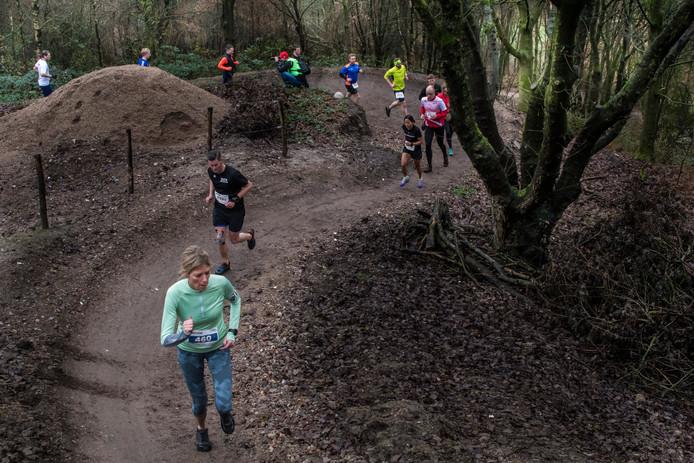 De skiheuvel was een scherprechter in de Rutbeekcross.