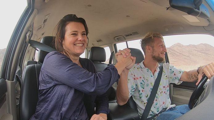 Susan Visser en Joshua Nolet in Jordanië