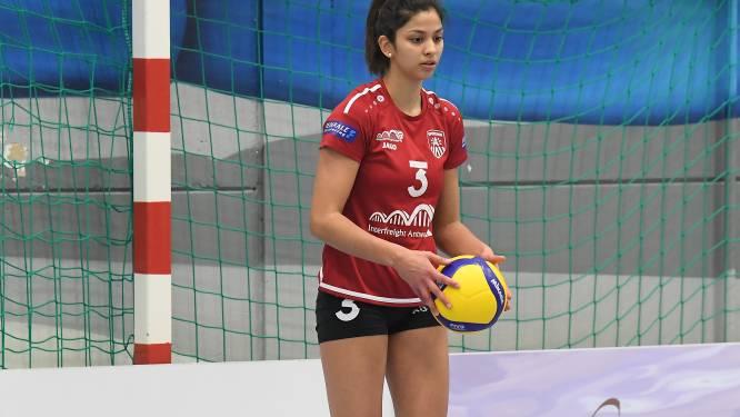 """Caitlin Van de Perre: """"De volgende wedstrijden tegen Tchalou Volley kunnen belangrijke punten opleveren"""""""