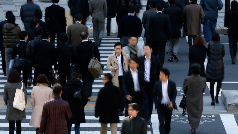 De werkloosheid daalde in december licht in Japan. Beeld REUTERS