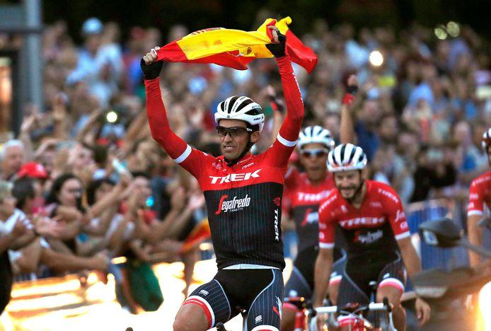 En in Madrid kreeg Contador een gepast afscheid.