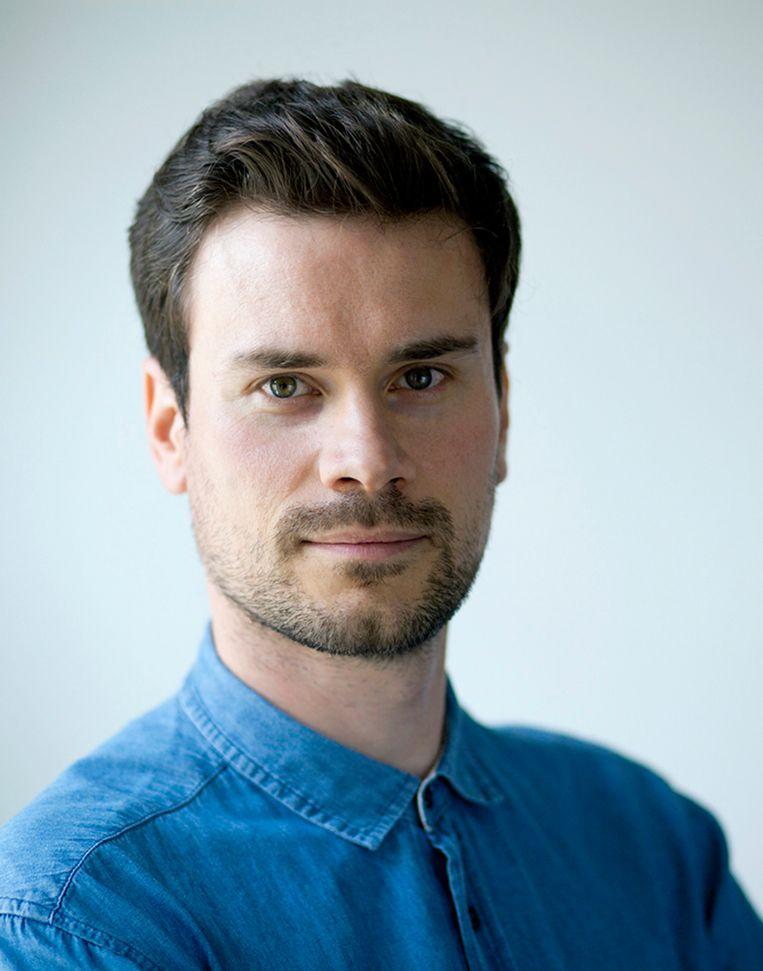 Robert Deutsch, schrijver van graphic novel 'Turing'. Beeld