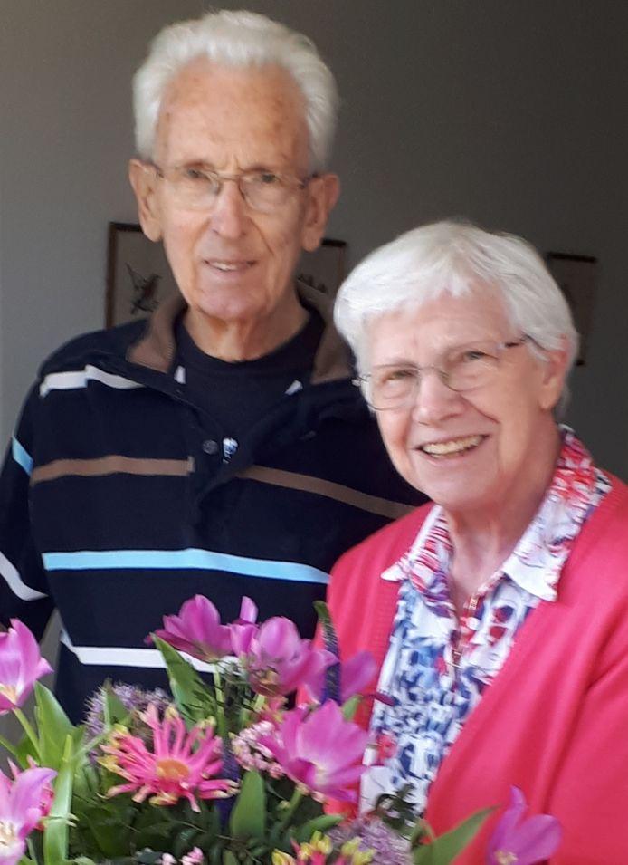 Piet en Ciel Smits zijn 60 jaar getrouwd.