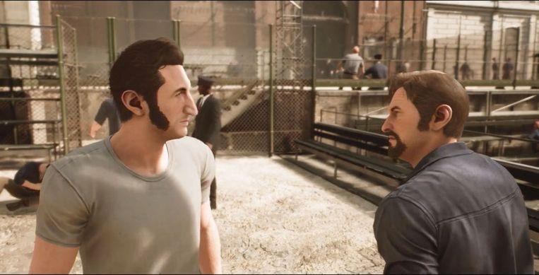 Samenwerken is de boodschap in 'A Way Out'. Beeld Electronic Arts