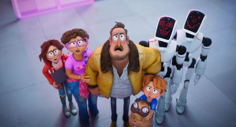 Het gezin Mitchell op avontuur. Beeld