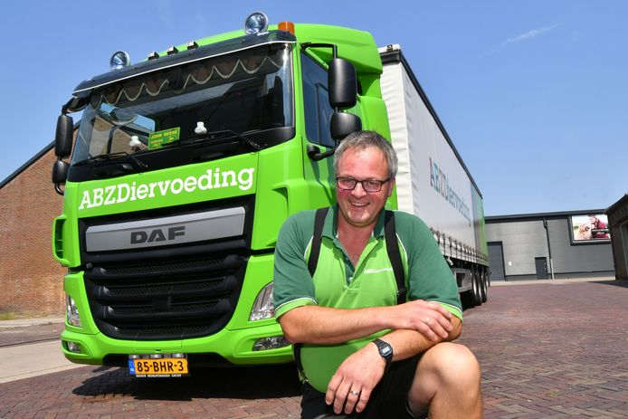 Trucker en columnist voor Maarkelsnieuws Willian Potman organiseert een Truck Run Hof van Twente.
