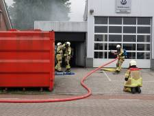 Kortsluiting veroorzaakt brand in bandenhok Hardenberg