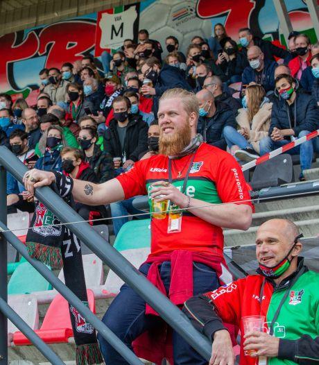 NEC-fans moeten bij stadion rivaal Vitesse coronatest doen als ze naar thuisduel met NAC willen