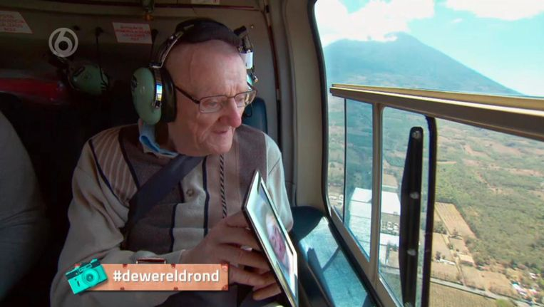 De wereld rond met 80-jarigen, SBS 6. Beeld -