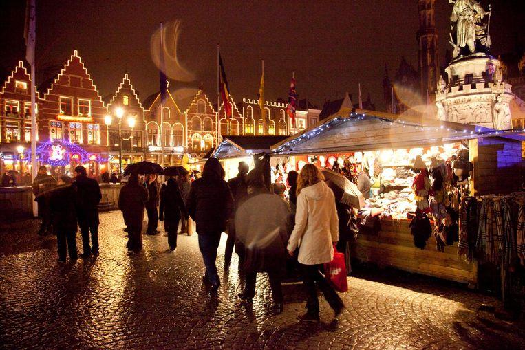Kerstmarkt Krijgt Andere Opstelling Brugge In De Buurt Hln