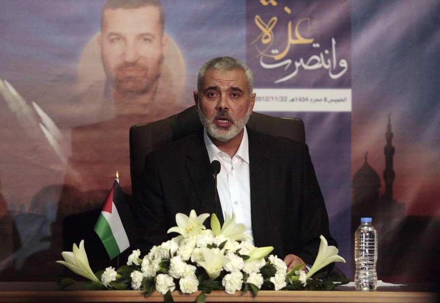Le leader du Hamas à Gaza, Ismaïl Haniyeh