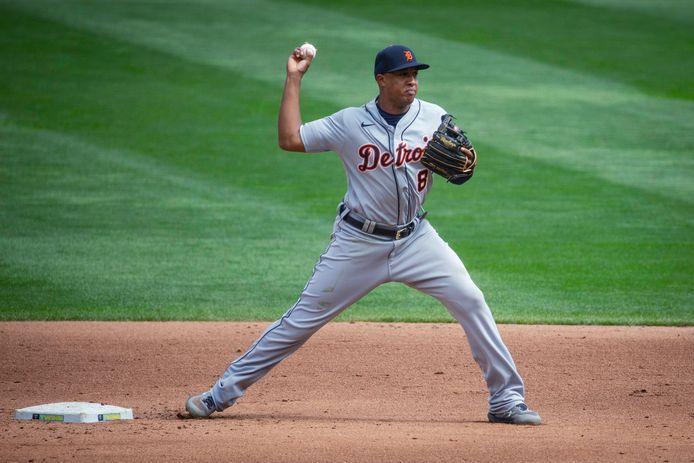 Jonathan Schoop verlengt zijn contract met één jaar bij Detroit Tigers.