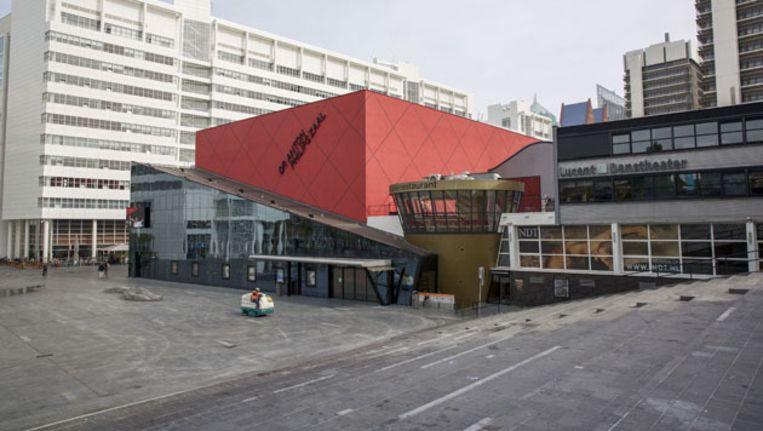 Het Spuiplein in Den Haag. Beeld ANP