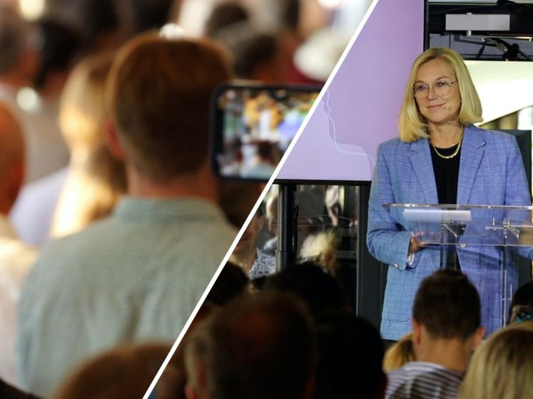 Toespraak Kaag op partijcongres D66