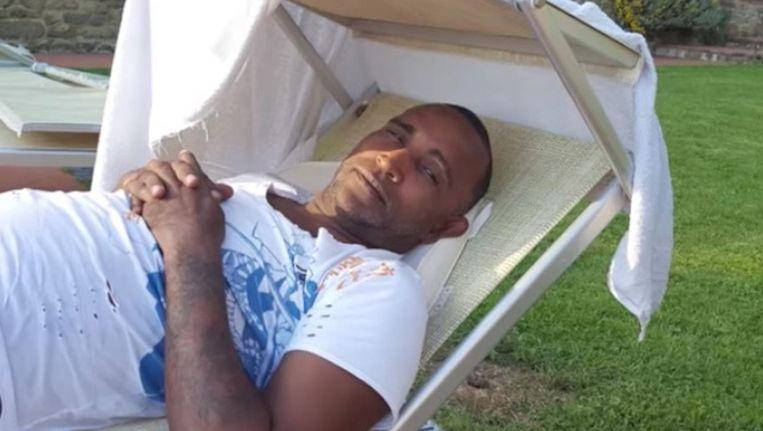 Roberto Campagne werd door zijn zoon doodgeschoten Beeld Printscreen uit videoclip Puna.nl