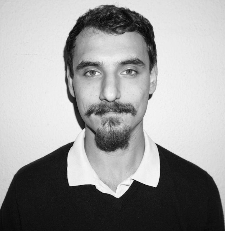 Matija Lujić Bucerius, Research Fellow bij de Zeit-stiftung in Hamburg, werkt in Nederland aan zijn essaybundel Madonna in Sodom. Beeld