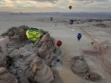 Saudi's genieten van Achterhoekse ballonvaarders