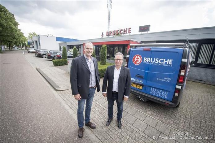 Hennie Nijhuis en compagnon Bertus Wetering