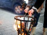 Brand door niet goed uitgemaakte vuurkorf