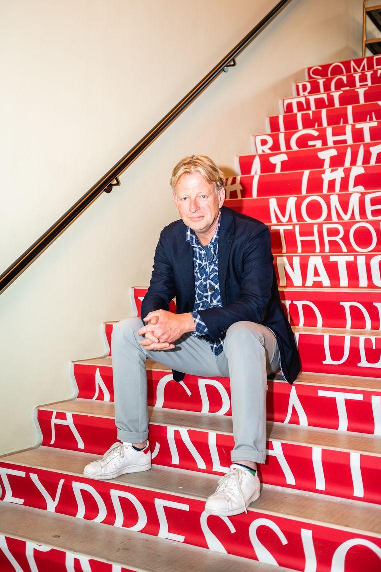 Andreas Fleischmann, directeur van DeLaMar, in DeLaMar West.  Beeld Simon Lenskens