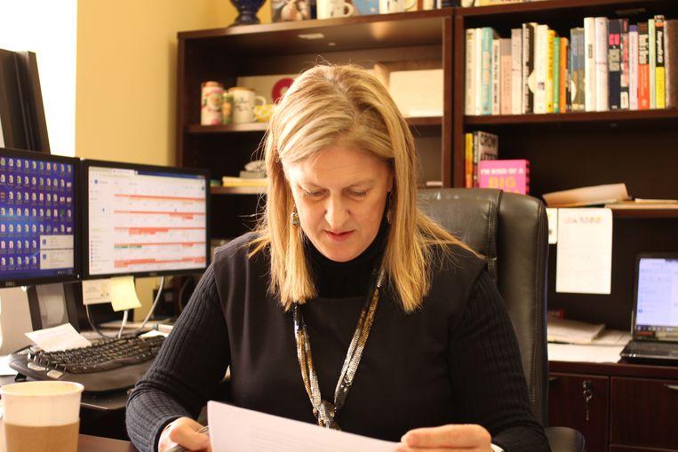 Directeur Julie Burkhart van Trust Women Beeld Seije Slager