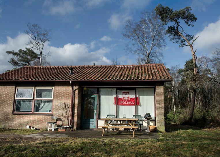 Een vakantiepark in Gelderland biedt onderdak aan arbeidsmigranten Beeld Hollandse Hoogte / Koen Verheijden