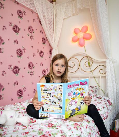 Rosalie heeft een kamer vol bloemen