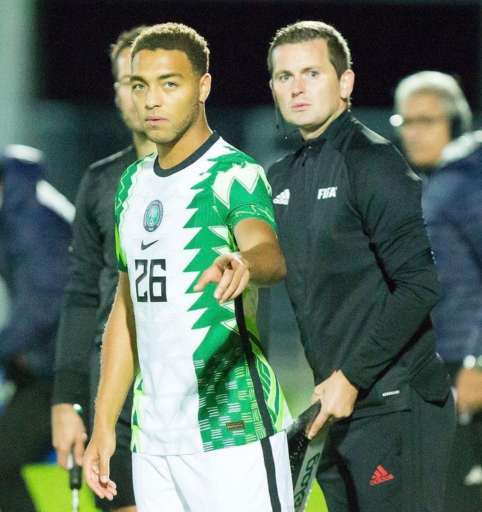 Cyriel Dessers maakte in oktober vorig jaar zijn debuut in Nigeria.