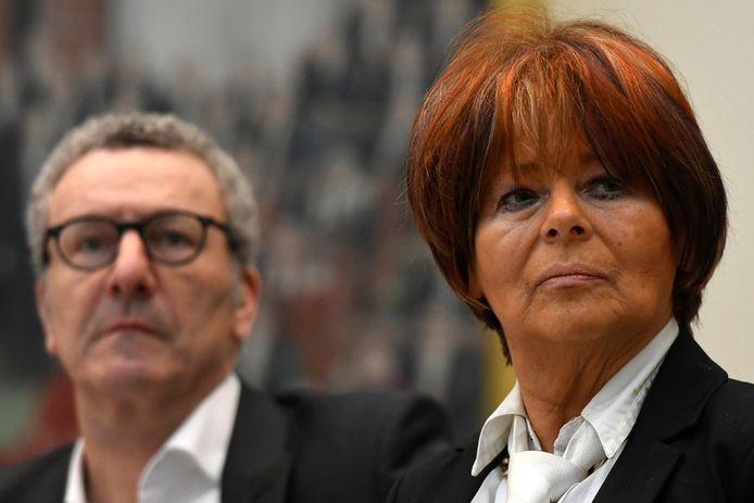 L'ex-échevine et bourgmestre de Charleroi, Françoise Daspremont (PS), aux côtés de l'ancien bourgmestre de Bruxelles, Yvan Mayeur (PS).