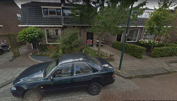 De betreffende woning aan de Pelikaanstraat in Veenendaal.