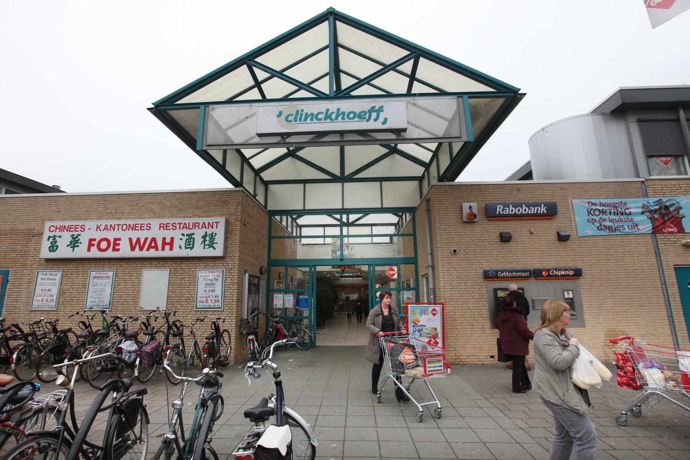 Winkelcentrum Clinckhoeff op een archieffoto.