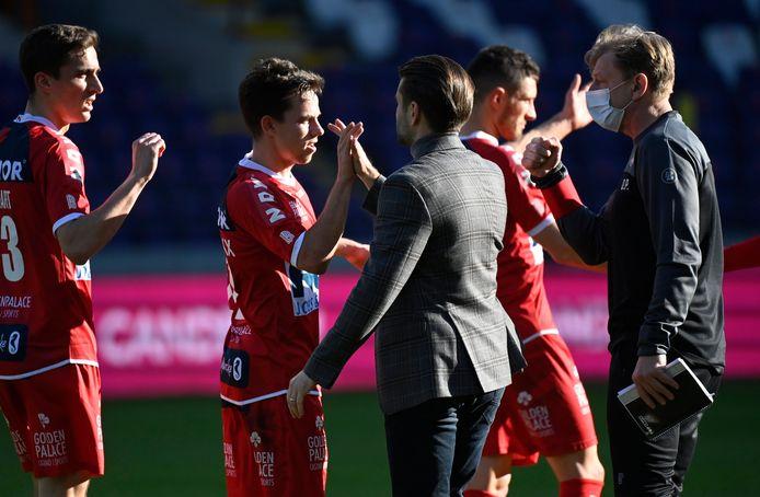 Une victoire largement méritée pour Gaëtan Hendrickx, Julien De Sart et leurs équipiers.