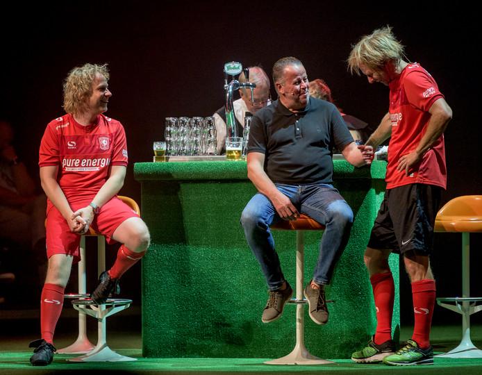 Evert Bleuming wordt ondervraagd door Thijs Kemperink en Laurens ten Den.