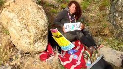 """""""Ze had de wil om te overleven"""": vrouw gered 7 dagen na ongeluk van een klif"""