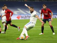 LIVE | Real Madrid op zoek naar goal tegen Osasuna