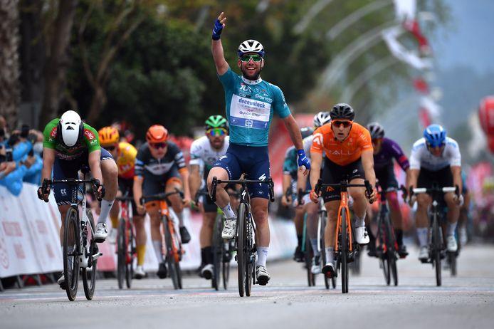 Troisième étape, troisième victoire pour Marc Cavendish en Turquie.