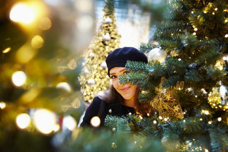 Kerstwinkel Beeld Getty Images