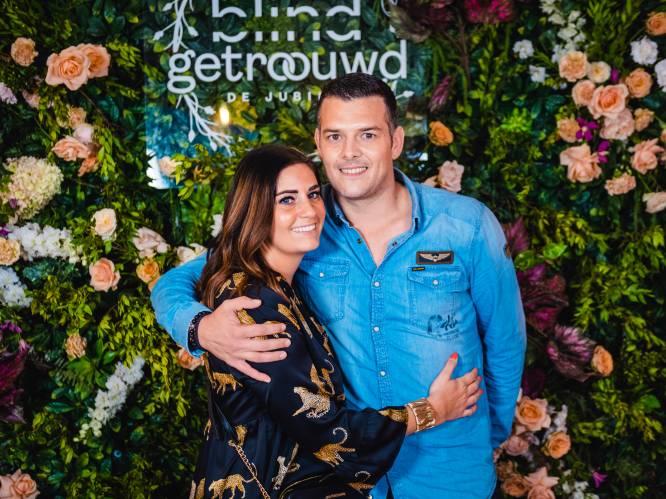 """Tatiana Rogier pronkt met nieuwe liefde Kenneth op de 'Blind Getrouwd'-reünie: """"We hebben samen al een huis gekocht"""""""