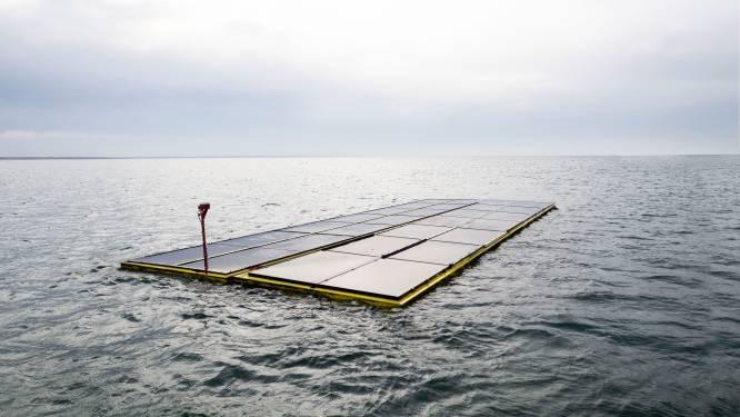 Zonnepanelen op de Noordzee produceren veel meer energie dan op een dak