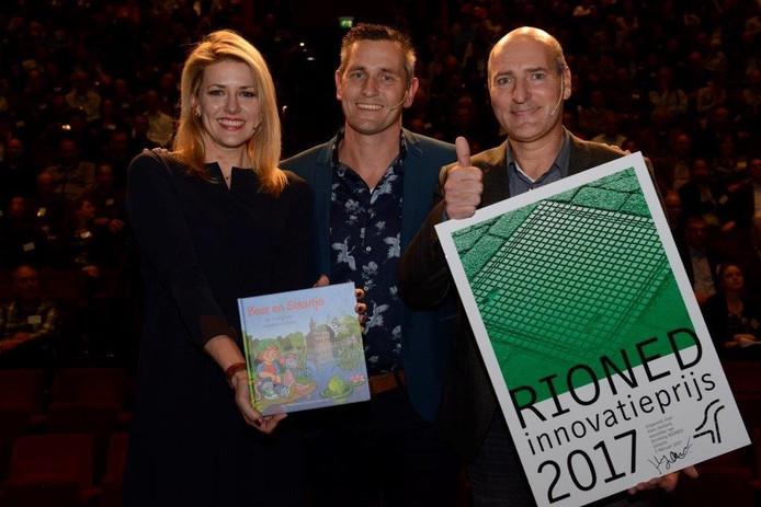 Beer en Staartje winnen de RioNed Innovatieprijs 2017